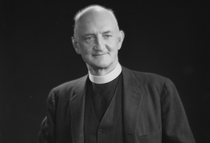 Reverend John Crocker, the second headmaster of Groton School