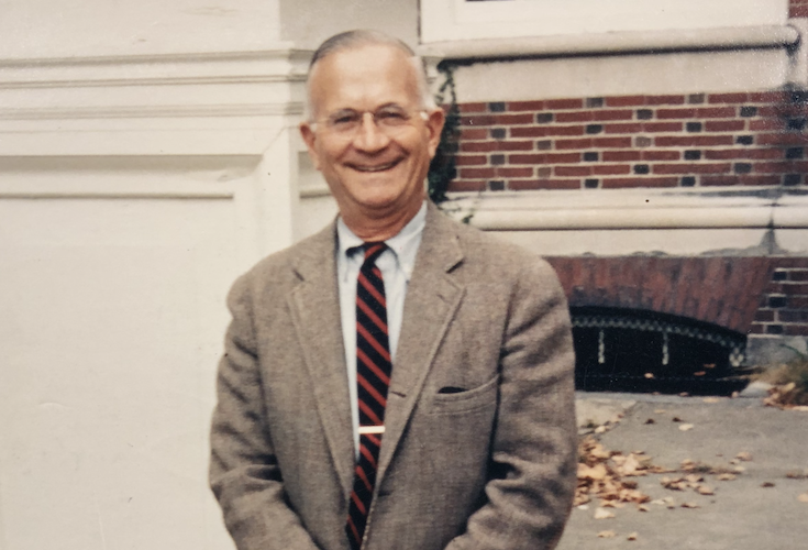 Paul Wright, the fourth headmaster of Groton School