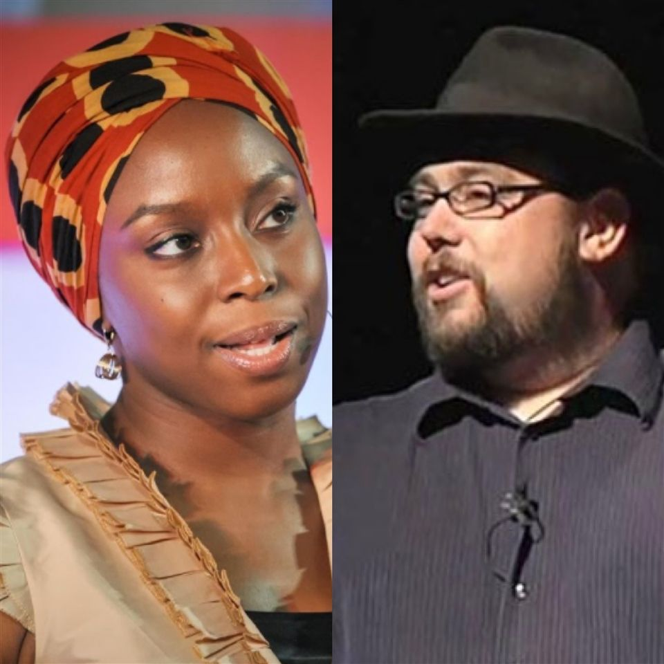 Fall community gatherings included TED talks by Chimamanda Ngozi Adichie and Drew Dudley