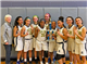 Springside Chestnut Hill Academy, girls' champions at the 2019 NFA Snowball Tournament. (Photo by Tom Utescher)