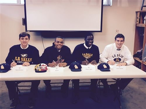St John S College High School Baseball Early Signing Day 2014