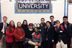 St. John's Model UN Club traveled to New York City to attend Columbia University's Model UN Conference.