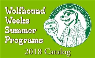 Wolfhound Weeks Summer Programs Catalog