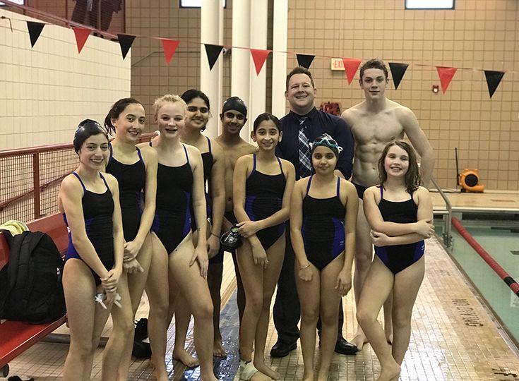 19406d0d41 Middle School Swim Team Enjoys First Season