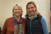 Kate Woodworth'65 and Erin Keith Epker'86