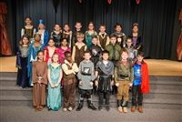 The cast of the fourth grade play,