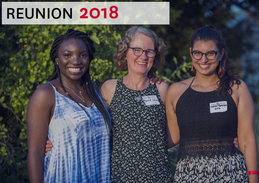 Alumni Reunion 2018 graphic link