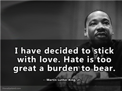Martin Luther King Day at St. Stephen's