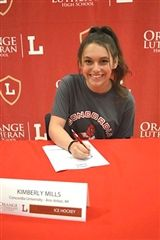 Kim Mills on Signing Day