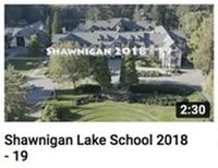 Shawnigan Lake School 2018-2019