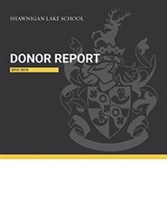 2015-16 Donor Report