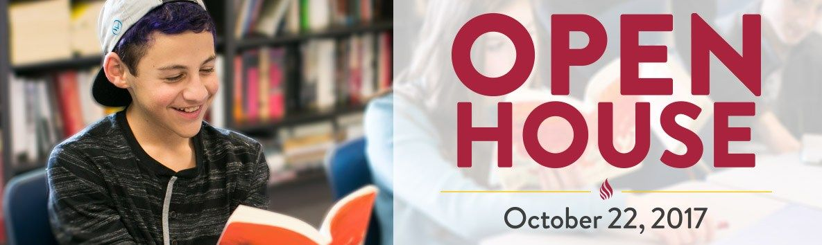 RSVP for the Open House on Sunday, Oct 22nd.