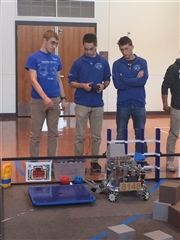 Robotics Scrimmage Hosted at Gann Academy