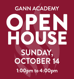 Attend the open house on Sunday, October 14