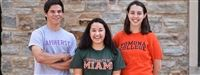 Class of 2018 alums proudly don their college t-shirts
