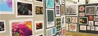 Art teachers, students and volunteers invest countless hours in creating exhibits, which fill the gym and surrounding area.