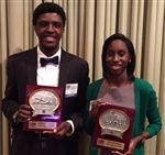 Unsung Heroes nominees Chris Shephard and Bianca Washington