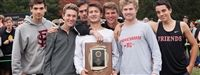 Boys Cross-Country clinched this year's MIAA C Conference title