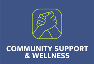 Community Support & Wellness Tile