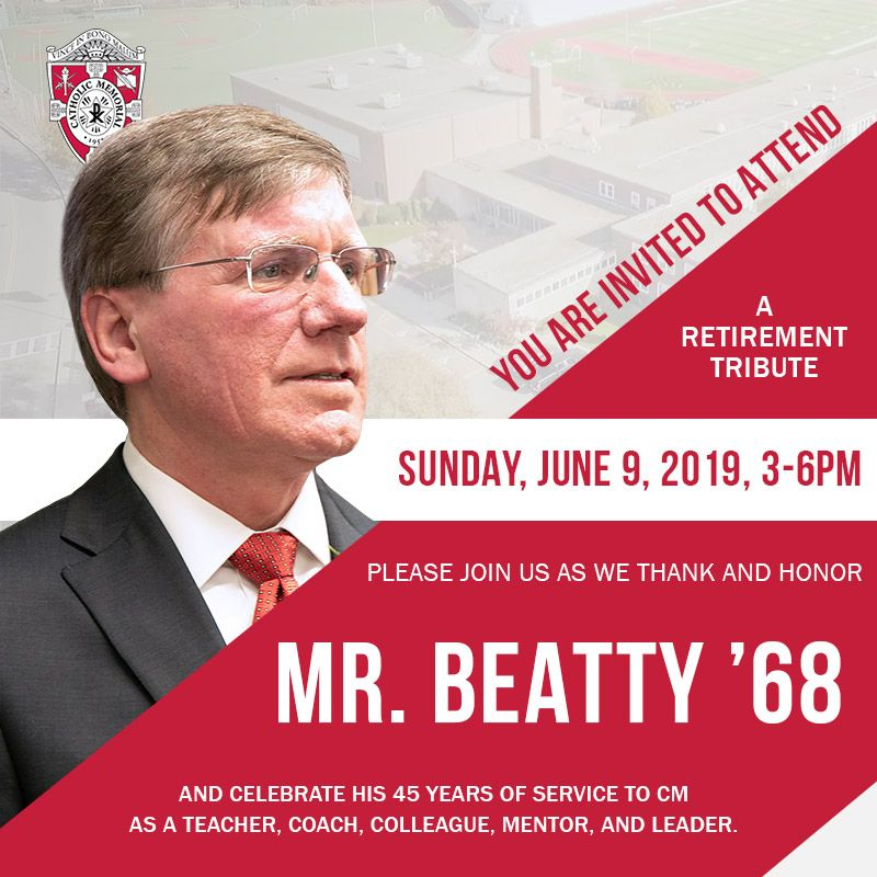 Tom Beatty Retirement Party
