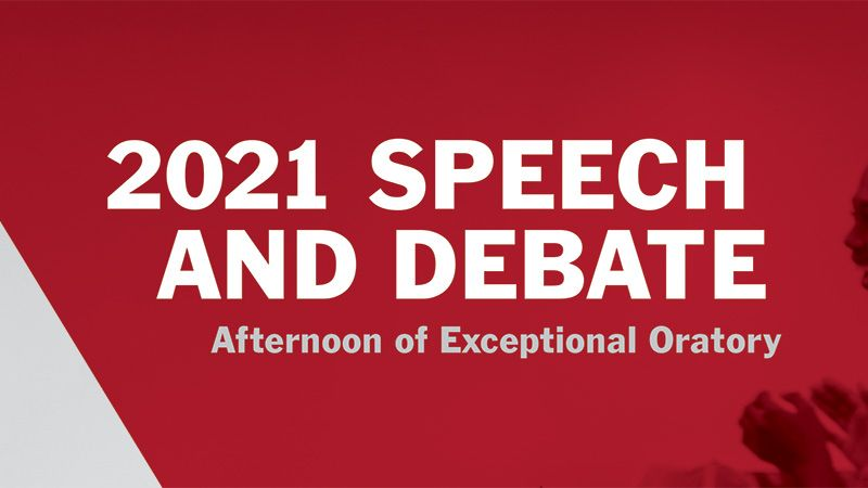 Afternoon of Exceptional Oratory Is LIVE