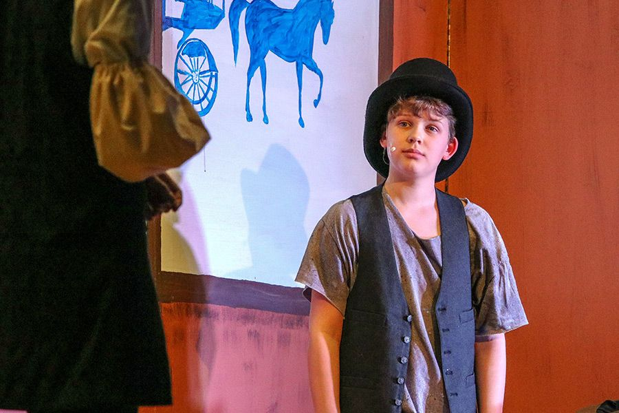 Brendan earned the lead role in the 2019 spring production of 'Oliver!'
