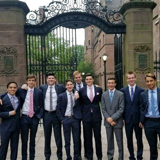Catholic Memorial School Forensics Competes At Yale Invitational