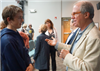 Wilder talks with Nicholas Negroponte at Willows Family Education Night with Nicholas Negroponte
