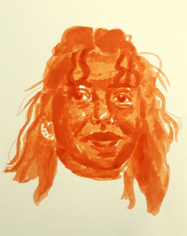 Shoshanah Alessi '21, Orange Self