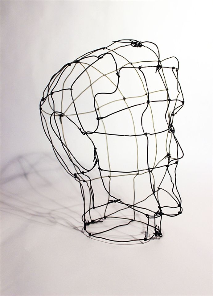9b. Wire Using my research of proportions to create a very technical piece using industrial material