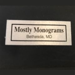 Mostly Monograms