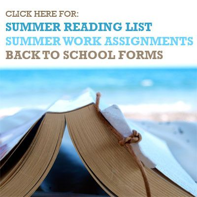 Summer Work and Back to School