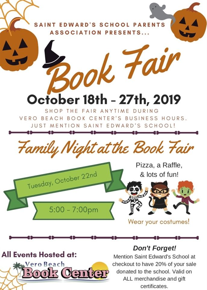 2019 Book Fair Flyer