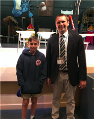 Emmons Repeats as Geography Bee Champ