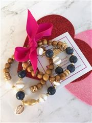 The St. Edward's Stack, from Southern Sequins:  $58.00