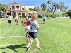 Third Graders Enjoy Flag Football Fun