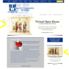 Virtual Open House landing page