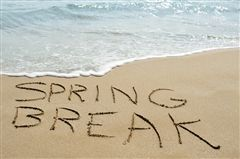 Spring Break: March 11-15
