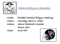 PFB Parent Meeting