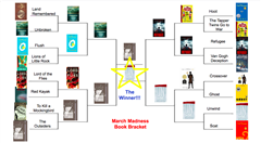 March Madness Middle School Book Bracket