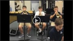Sixth Grade Band Video