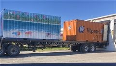The SES shipping container is bound for Hope Town