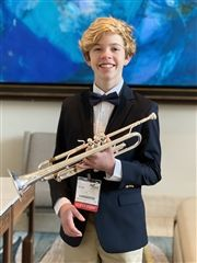 Stone Colgan Participates in Middle School Honor Band