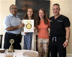 Mallon Named Orchid Island Rotary Student of the Month