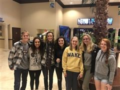 Ms. Kennedy's English students attend film