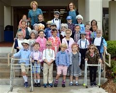 Kindergarten Celebrates 100th Day of School