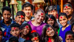 Maggie Doyne Speaks Directly to Saint Ed's Students in Video