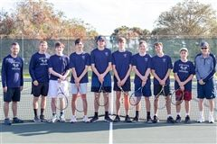 2019-20 Varsity Boys Tennis team