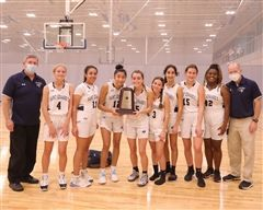 Varsity Girls Basketball Team at SSAC State Championship