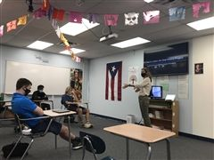 Ms. Kennedy lends a hand to genealogy students